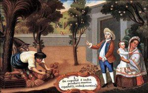 Pintura de Miguel Cabrera (1695-1768)