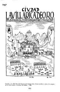 """Lamina de Huancavelica, grabado de Guamán Poma de Ayala (1632?-1614?). En la leyenda de este dibujo se puede leer """"en dicha mina se acaban los indios"""""""