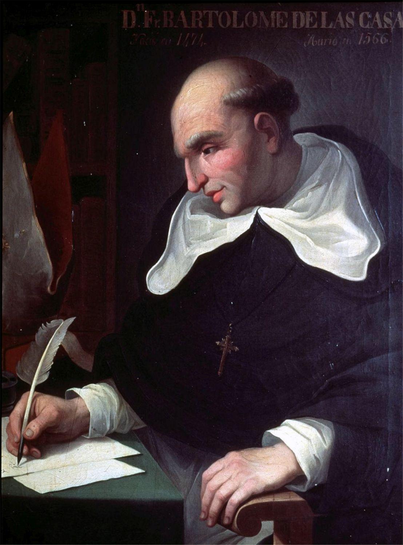 Bartolomé de las Casas (1484-1566) fue un fraile dominico, teólogo, Obispo de Chiapas (México)