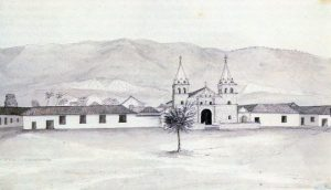 Girón. Grabado de Joseph Brown, 1834