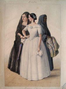 Acuarela de la Comisión Corográfica, 1850-1859