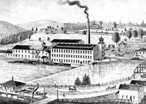 Fabricas textiles inglesas, siglo XIX