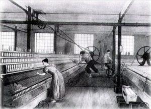 Niños trabajadores de la industria textilNiños trabajadores de la industria textil