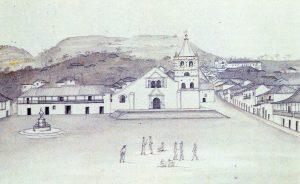El Socorro. Grabado de Joseph Brown, 1834