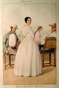 Acuarelas de la Comisión Corográfica, de Joseph Brown y de Auguste Le Moyne entre 1850-1859
