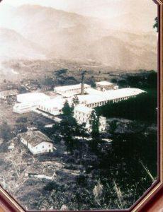Fábricas de San José de Suaita en 1941. Fotografía: Archivo José Noé Guzmán Charry