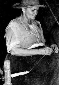 Mercedes Silva. Fotografía: Carlos Eslava, 1989