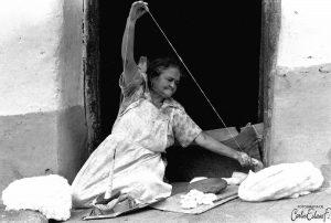 Cristina Cárdenas. Fotografía: Carlos Eslava, 1989